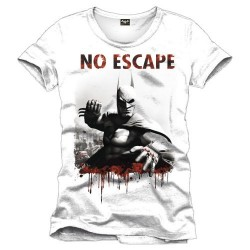 Camiseta Batman Arkham City No Escape Blanca