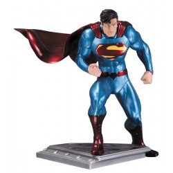 ESTATUA SUPERMAN MAN OF STEEL DE JIM LEE ESCULPIDA POR JACK MATHEWS