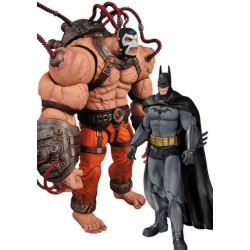 Pack 2 Figuras Bane vs Batman Arkham Asylum 17 cm DC Collectibles