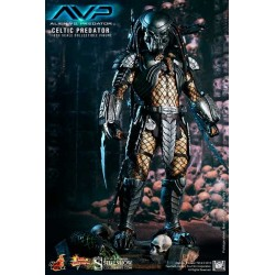 Figura Alien Vs Predator Depredador Celtic 36 cm 1/6 HOT TOYS
