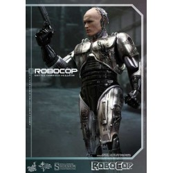 Figura RoboCop Battle Damaged Version 30 cm 1/6 Movie Masterpiece - HOT TOYS