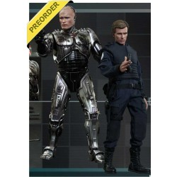 Pack 2 Figuras RoboCop Battle Damaged and Alex Murphy 30 cm 1/6 Movie Masterpiece - HOT TOYS