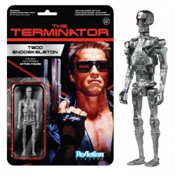 Figura T800 Endoskeleton Terminator 10 cm Reaction Funko