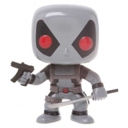 Figura Deadpool X Force Marvel Comics Cabezon Pop Funko 10 cm