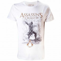 Camiseta Assassin´s Creed IV Black Flag Artwork