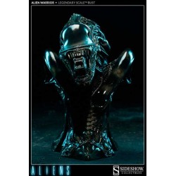 Busto Alien Warrior Legendary Aliens 34 cm Escala 1/2 - SIDESHOW