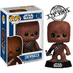Figura Chewbacca Star Wars Cabezon Pop Funko 10 cm