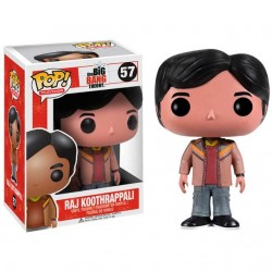 Figura Raj Big Bang Theory Cabezon Pop Funko 10 cm
