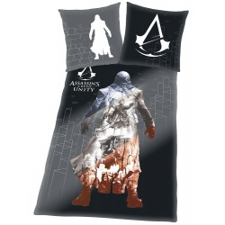 Funda Nordica Assassin´s Creed Unity Arno 135 x 200 cm mas Funda de Almohada 48 x 74 cm