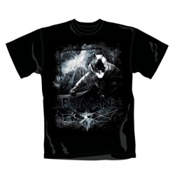 Camiseta Batman The Dark Knight Rises Distressed Scene