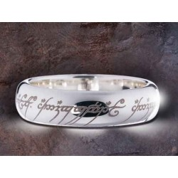 Anillo Unico en Plata de Ley de El Señor de los Anillos - The Lord Of The Ring Noble Collection