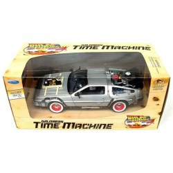Replica Coche Delorean Regreso al Futuro 3 Back To The Future III Diecast Model 1/24 ´81 LK Coupe