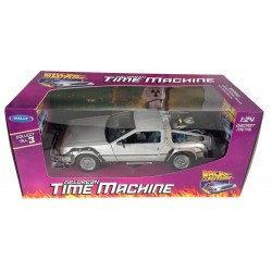 Replica Coche Delorean Regreso al Futuro 1 Back To The Future I Diecast Model 1/24 ´81 LK Coupe